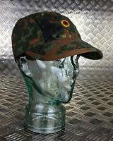 Genuine German Army Flectarn Camouflage Peak Baseball Cap / Hat. All Sizes - NEW