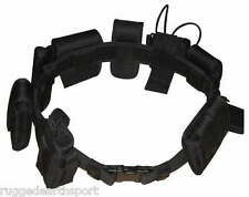 """10 pc Holster Pouch Police Security Tactical Utility Duty Belt Adjusts 32-54"""""""