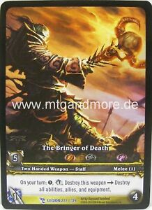 WoW - 1x The Bringer of Death Extended Art - Archives
