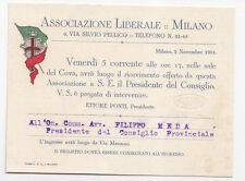 F639-MILANO-ASSOCIAZIONE LIBERALE