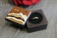 Ring Box Jewelry Gift Wedding Proposal Engagement Mountain Handmade