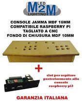 Arcade Consolle Cabinet Plancia Raspberry Pi Arcade 2player Jamma MDF16mm