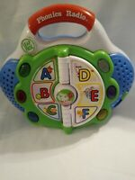 Leap Frog Phonics Radio Educational Toy Plays Music Over 30 Different Songs 5x7