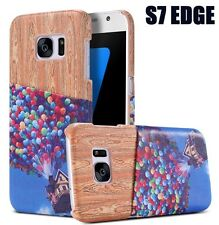 For Samsung Galaxy S7 Edge - CARD WALLET ID SLOT HOLDER CASE COVER UP BALLOONS