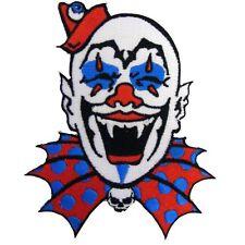 KREEPSVILLE 666 Clown Patch Embroidered Iron On Kreepy Horror
