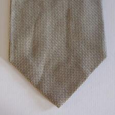 NEW Nautica Silk Neck Tie Solid Plain Metallic Light Gold Tan 1582