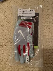 New York Giants Nike Football Gloves- Team Issued! Exclusive