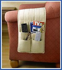 Armlehnen Sessel Couch Sofa Organizer Tasche Aufbewahrung Zeitung Fernbedienung