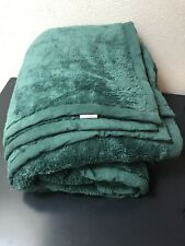 Threshold Target Microplush Blanket King Size Green 115x98�