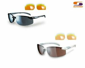SUNWISE PACIFIC SPORTS SUNGLASSES & Zip Case Cycling Running Tri jog Sunglasses
