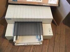 HP DeskWriter C C2113A Vintage Printer With Manual for Apple Macintosh Computers