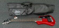 HOFNER HCT-SH-RD SHORTY TRAVEL Electric Guitar METALLIC RED with Gig Bag