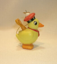 New Mary Engelbreit Ceramic Wind Up Toy Duck Ornament