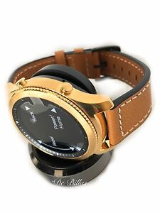 24K GOLD Plated Samsung Galaxy Watch 3 Smart Watch CUSTOM RARE 2020 Release