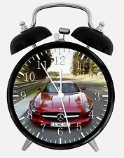 "Super Car SLS Alarm Desk Clock 3.75"" Room Office Decor W224 Nice For Gift"