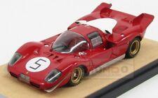 Ferrari 512S 5.0L V12 Coupe Sefac #5 Test Le Mans 1970 Tecnomodel 1:43 TMDMI53C