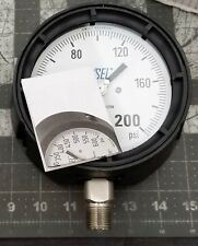 """0-200PSI 4 ½"""" Pressure Gauge ½""""NPT WIKA 232.34   NEW [A4BB]"""