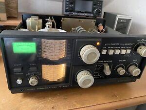 Kenwood  Kenkraft Qr-666 Special Shortwave Receiver AM SSB CW Radio With Fm