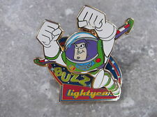 DISNEY PIXAR DLRP BUZZ LIGHTYEAR 3D PIN FLYING UP TO THE STARS
