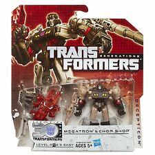 Transformers Generations Legends Class Megatron and Chop Shop