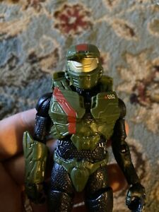 Htf Halo FDN96 Masterchief Figure 6inches Red Team Jerome As Pictured