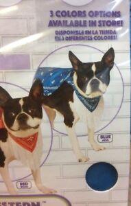 Rubies Pet Shop Western Poncho New Size S/M M/L BLUE or PINK Fringe Pet Fashion