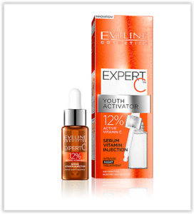 EVELINE YOUTH ACTIVATOR 12% ACTIVE VITAMIN C SERUM INJECTION INTENSIVE TREATMENT