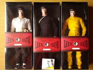 Bruce Lee's Legend lot de 3 figurines édition limité.