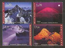 UN-Geneva #392-395, 2002 International Year of Mountains, Unused NH
