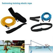 3M Swim Bungee Training Belt Swimming Resistance Safety Leash Exerciser Tether
