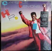 CLARENCE CLEMONS Hero NM Vinyl SHRINKWRAP-HYPE STICKER-LP