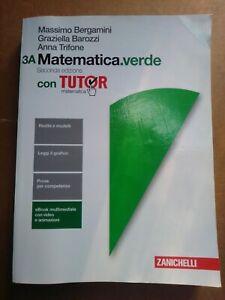 Matematica verde. Vol. 3A e 3BZanichelli,2016
