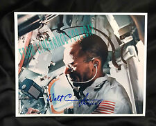 Walter Walt Cunningham Apollo 7 Signed Photo with a Photo Coa of Him From 2000