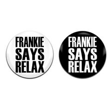 2x Frankie Says Relax Goes to Hollywood 80's 25mm / 1 Inch D Pin Button Badges