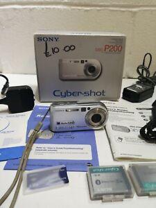 Sony Cyber-shot DSC-P200 7.2MP Digital Camera #2163