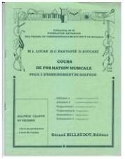 Cours de formation musicale Solfège chanté et théorie - Débutant 1 - Livre de l'