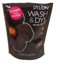 Dylon Wash & Dye Clothes Dye Velvet Black