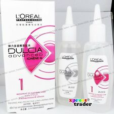 L'Oreal Dulcia Advanced Ionene G Perm Lotion [ 1 - Resistant to Natural Hair ]
