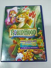Robin Hood Los Clasicos de Walt Disney- DVD + Extras Español Ingles - AM