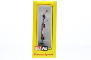 H0 Brawa 8938 Signal Formsignal Flügelsignal +OVP/J26