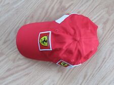 Ferrari Formula One 1 Racing Official Strapback Hat OSFA