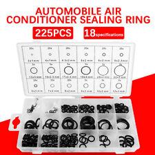 225Pcs/Set Universal Rubber O-Ring Metric Assortment Set Gasket Seal MM Kit
