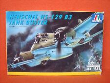 Italeri ® 055 Henschel Hs-129 B3 Tank Buster 1:72