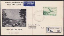 NORFOLK IS 1961 10/- Tropic Bird commem FDC................................67754