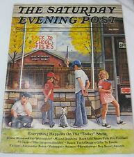Saturday Evening Post  Magazine Sept/Oct 1973 Back to School / After Watergate