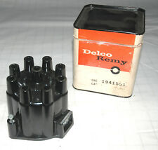 1958-64 1941551 D324 2-WINDOW DISTRIBUTOR CAP CORVETTE CHEVY NOS COPPER CONTACTS
