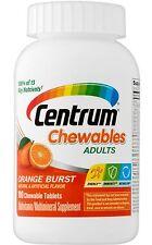 CENTRUM CHEW CHEWABLE MULTIVITAMIN / MINERAL ORANGE 100 CT CHEWS