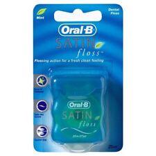 Oral-b Satin fil Dentaire Menthe - 25m x Paquet de 2