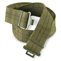 East German Military Issued Utility Belts-olive drab- Never Issued !