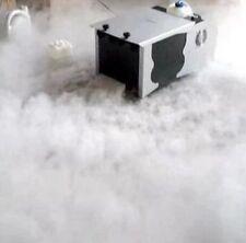 Queenshiny 1500W Low Fog Machine Dry Ice Effect Smoke Club Stage Wedding